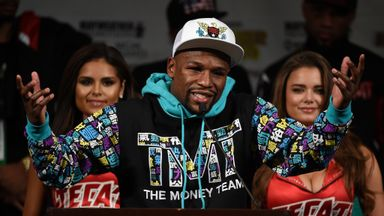 Floyd Mayweather is hoping to see Tyson Fury vs Deontay Wilder