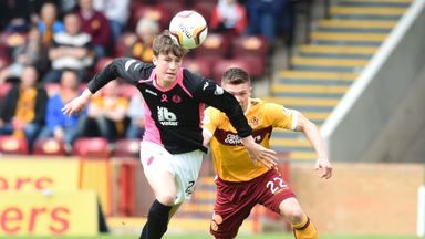 Jack Hendry (left) has joined Wigan from Partick Thistle