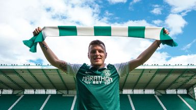 Jamie Insall has signed a three-year deal at Easter Road (Picture courtesy of Hibernian FC)