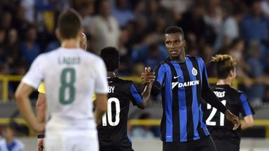 Obbi Oulare has swapped Club Brugge for Watford