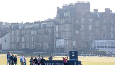St Andrews is one of three courses used for this week's tournament
