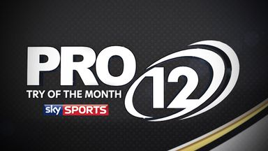PRO12 Try of the Month