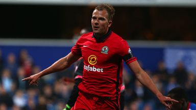 Jordan Rhodes scored a penalty as Blackburn beat Preston on Saturday.