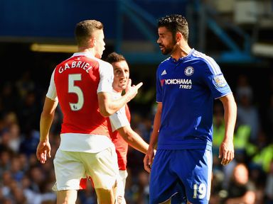 Chelsea and Arsenal clashed at Stamford Bridge