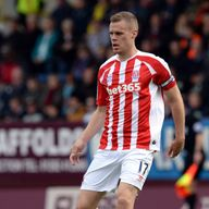Stoke captain Ryan Shawcross hit out at Eddie Jones in a 'rant'