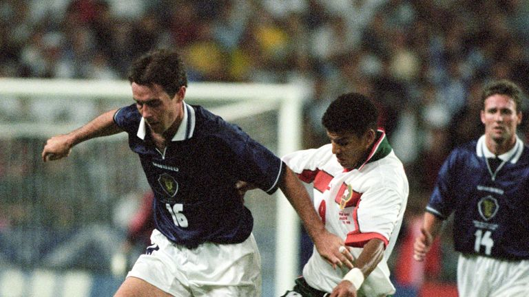 Scotland last played at a World Cup finals tournament in 1998