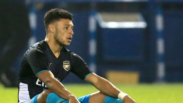 Alex Oxlade-Chamberlain also picked up an injury at Hillsborough