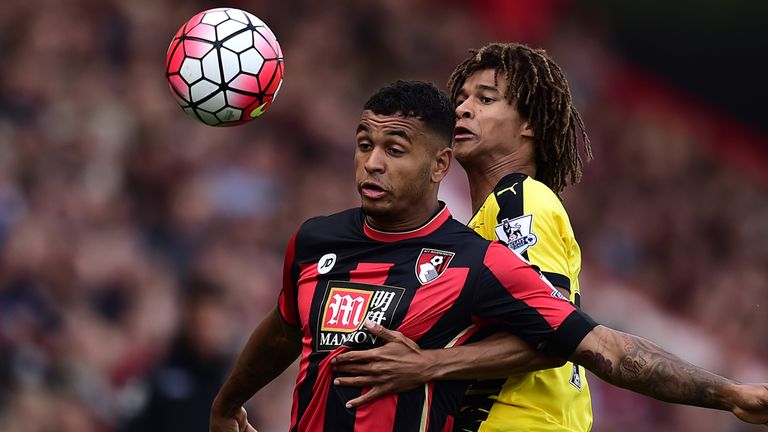 Nathan Ake (right) is a first-team regular on loan at Watford