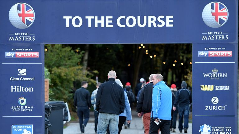 Over 57,000 people attended last year's British Masters at Woburn, with 15,000 fans in for Sky Sports Thursday