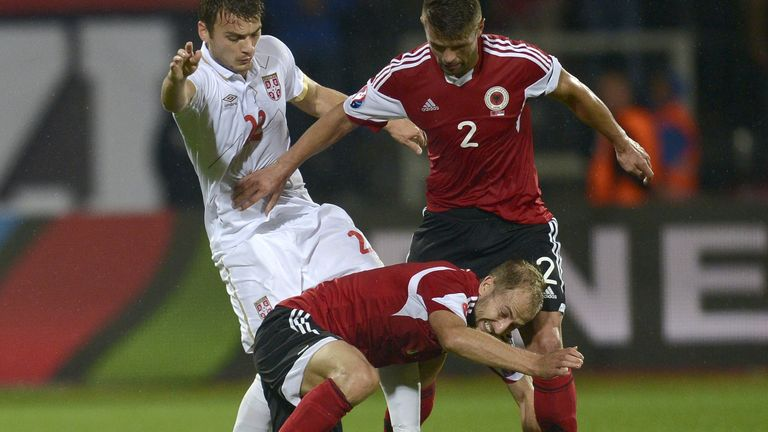 Nemanja Matic was also substituted against Albania, and may not be fit to face Aston Villa