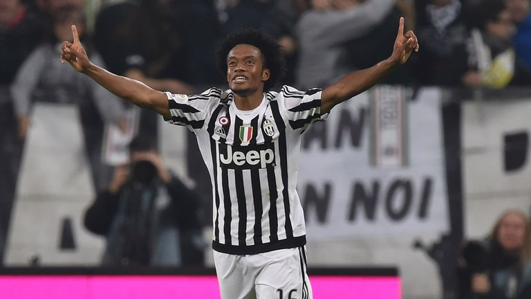 Juan Cuadrado joined Juventus on loan from Chelsea last summer