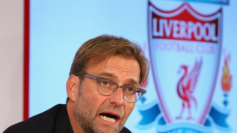 It's not yet three months since Liverpool appointed Klopp as their manager