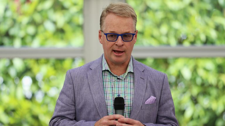 Keith Pelley, European Tour chief executive, aims to cut at least 15 minutes from a round