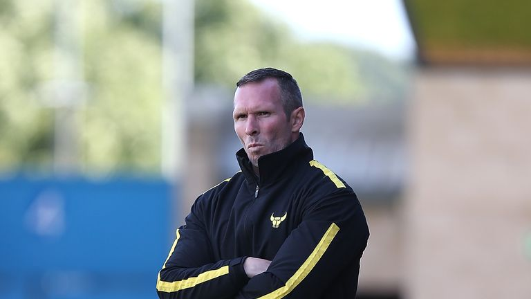 Michael Appleton said he was 'chuffed to bits' after taking Oxford to Wembley
