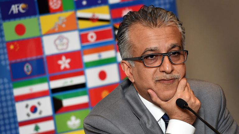 Sheikh Salman is currently the Asian Football Confederation President