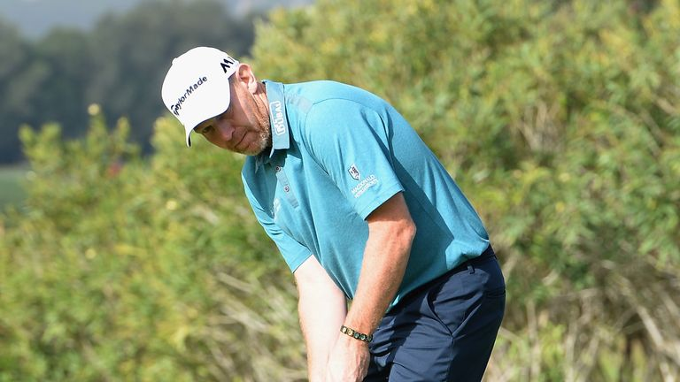 Stephen Gallacher is six shots off the pace after carding a third round of 66