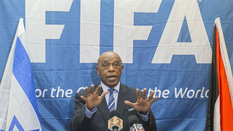 Sexwale says it is time for FIFA to have a black president