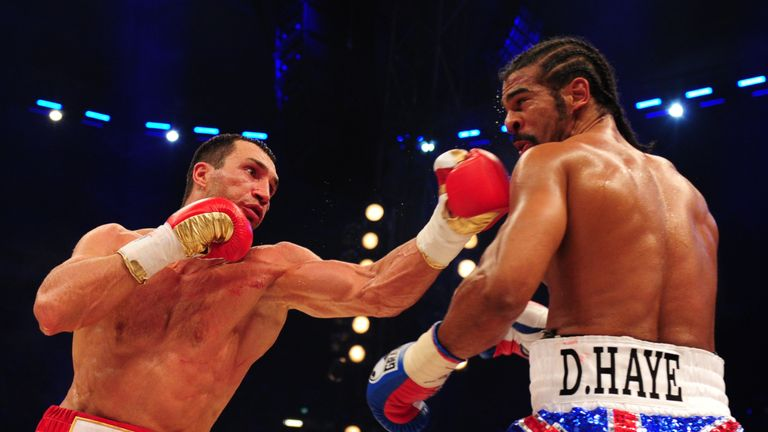 who beat david haye