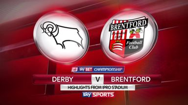 Derby 2-0 Brentford