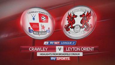 Crawley 3-2 Leyton Orient