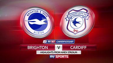 Brighton 1-1 Cardiff
