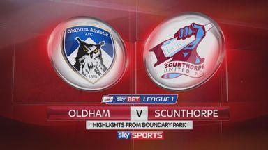 Oldham 2-4 Scunthorpe