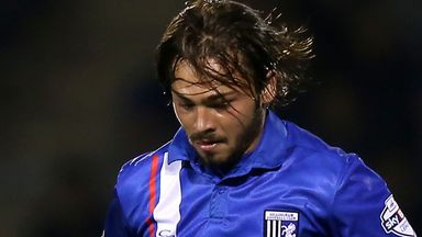 Bradley Dack: Scored for Gillingham