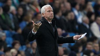 Crystal Palace boss Alan Pardew is unconcerned by his limited attacking options