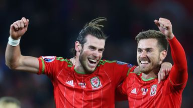 Gareth Bale  (left) and Aaron Ramsey were on target as Wales beat Andorra