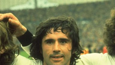 Gerd Muller scored 68 goals in 62 games for West Germany
