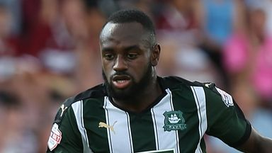 Hiram Boateng: Scored for Plymouth Argyle