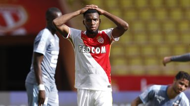 Monaco's Thomas Lemar helpless as Rennes hold Monaco