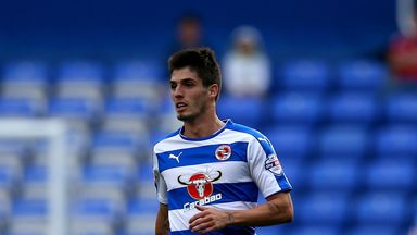Lucas Piazon got the opening goal for Reading against Bolton on Saturday afternoon