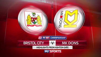 Bristol City 1-1 MK Dons
