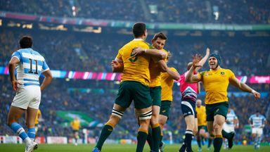 Australia and Argentina will meet again at Twickenham on October 8