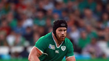Sean O'Brien will have to sit out the clash with Argentina