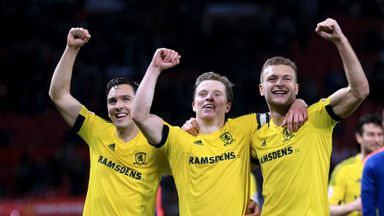 Middlesbrough looking to push on from knocking Manchester United in the previous round