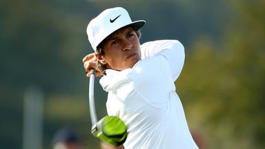 Thorbjorn Olesen made a brilliant recovery from a bogey at the first to shoot 65