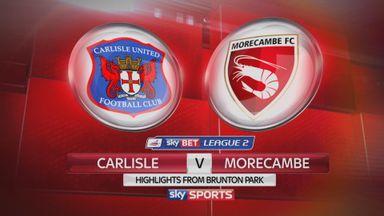 Carlisle 2-3 Morecambe