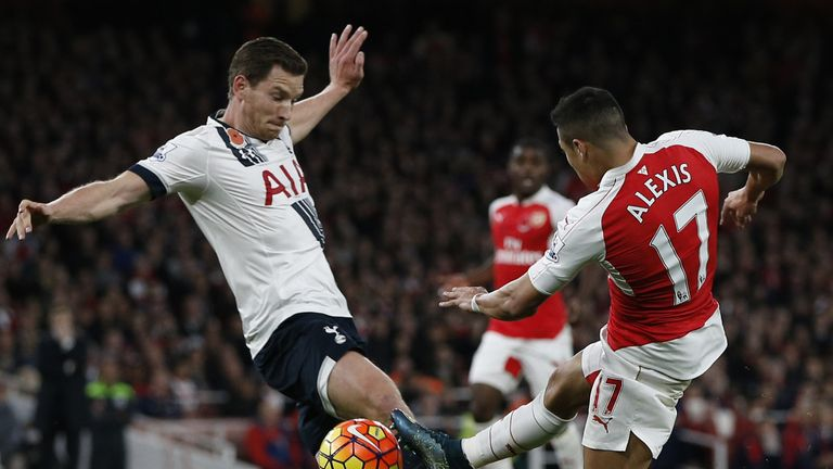 Image result for Tottenham, Arsenal draw at Emirates