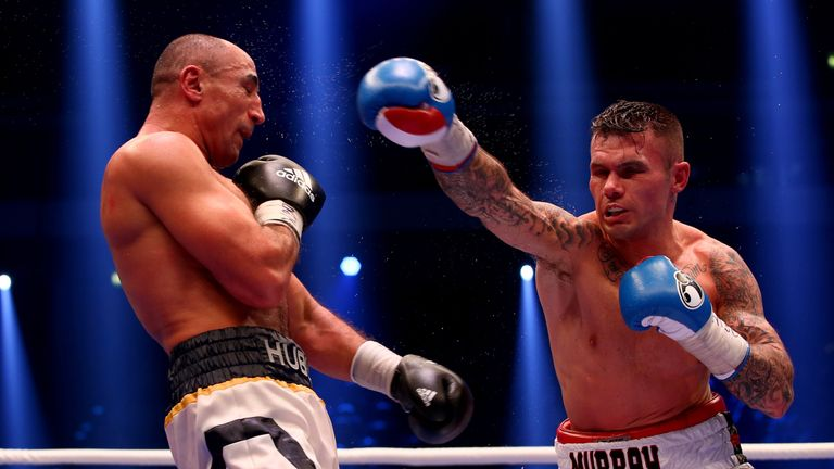 Martin Murray returns to the ring after losing a split decision to Arthur Abraham in Germany