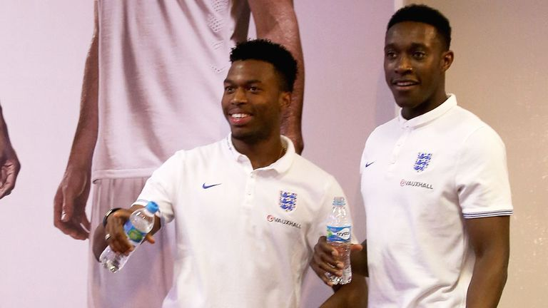 England duo Daniel Sturridge (left) and Danny Welbeck have both returned from injury