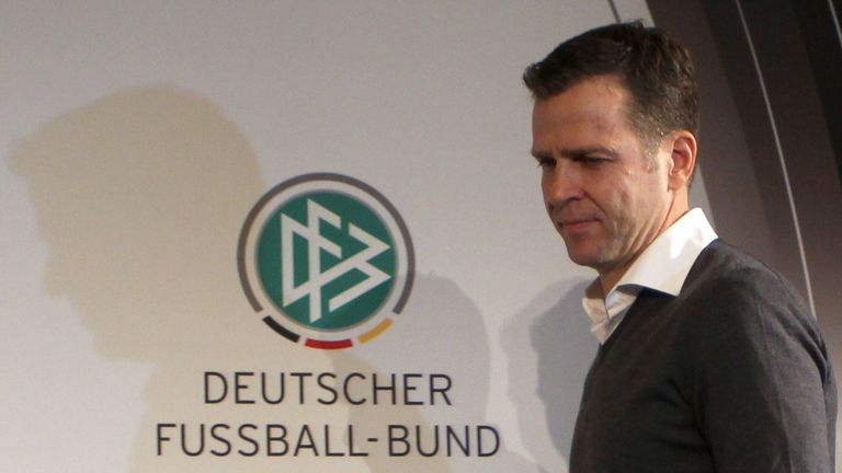 Bierhoff said: 'Every player needs the backing of the coach'
