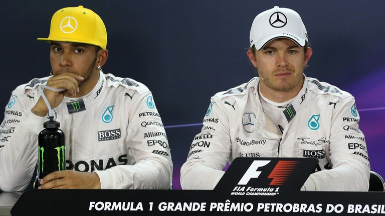 There is a 'difficult relationship' between Nico Rosberg and Lewis Hamilton