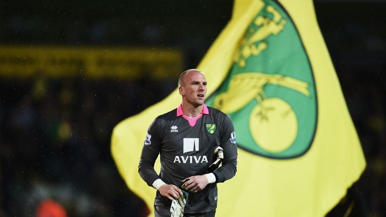 John Ruddy could return in goal for Norwich