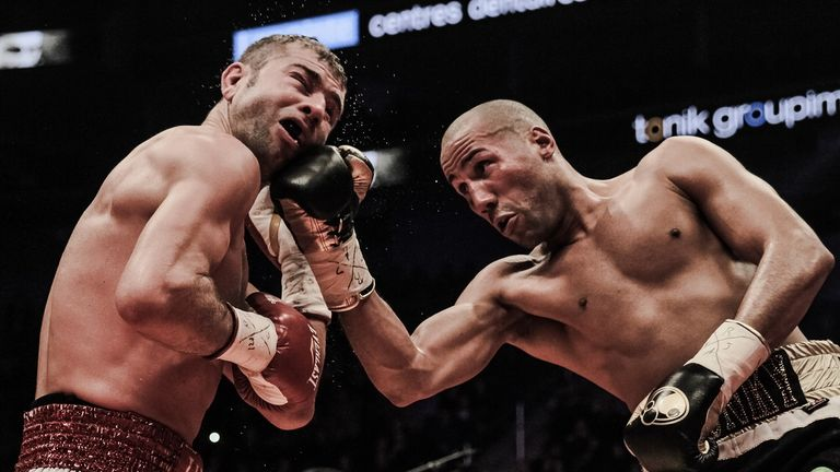 DeGale's first world title defence took him to Canada and Bute