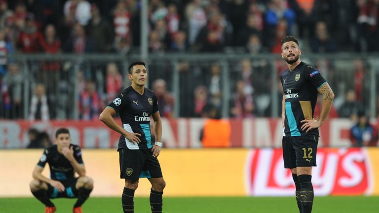Arsenal backed to bounce back from mauling in Munich.