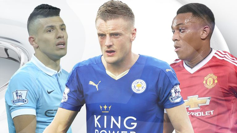 Sergio Aguero, Jamie Vardy or Anthony Martial? Who is the best?