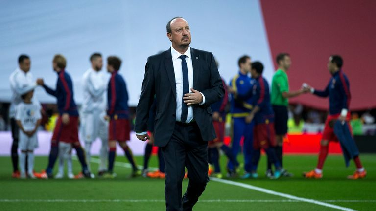 In his 25 games at the helm, Rafael Benitez saw Real Madrid win 17