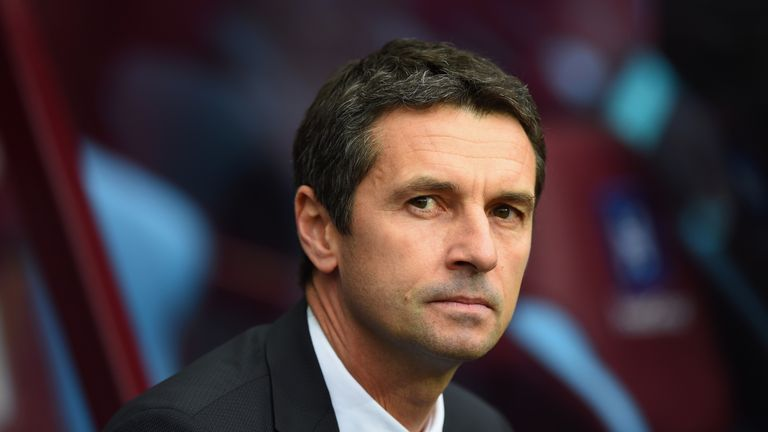 Garde has walked into a very difficult situation at Aston Villa